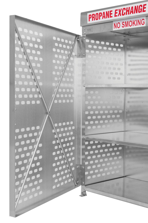 Cross Bracing For Aluminum Door