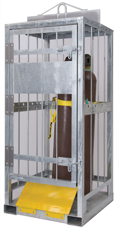High Pressure Bottle Rack : The quot high riser cylinder transport hrct
