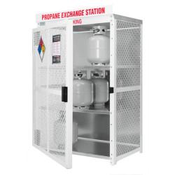 Gabinetes para intercambio de cilindros de 20 libras
