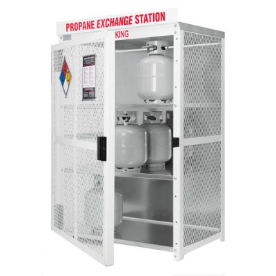 20 Pound Cylinder Exchange Cabinets