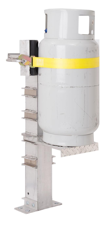 wall hugger cylinder vise
